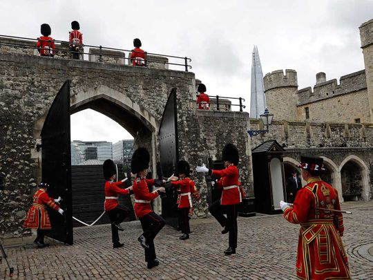 Tower of London visitors UK