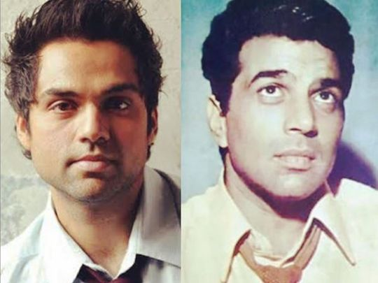 Abhay Deol and Dharmendra