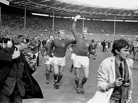 Jack Charlton helped England win the World Cup in 1966