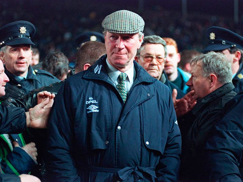 Jack enjoyed great success as Ireland manager