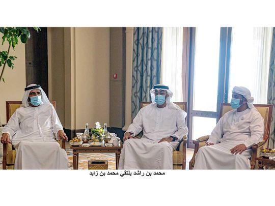 Mohammed bin Rashid meets Mohammed bin Zayed