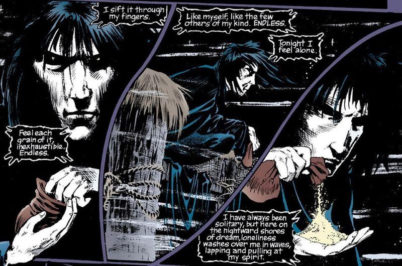 Sandman comic book panel-1594450076438