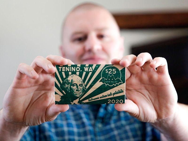 Tenino wooden money
