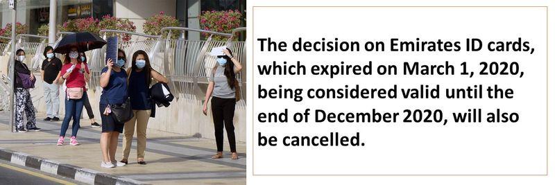 Visa decisions cancelled