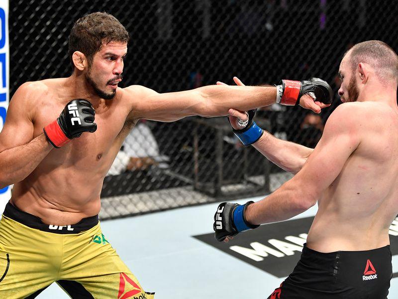 Division: Lightweight - Leonardo Santos (10-1 MMA, 0-1 UFC) def. Roman Bogatov via (10-1 MMA, 0-1 UFC) unanimous decision (29-26, 29-26, 29-26)