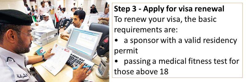 Expired UAE visa - what do i do next