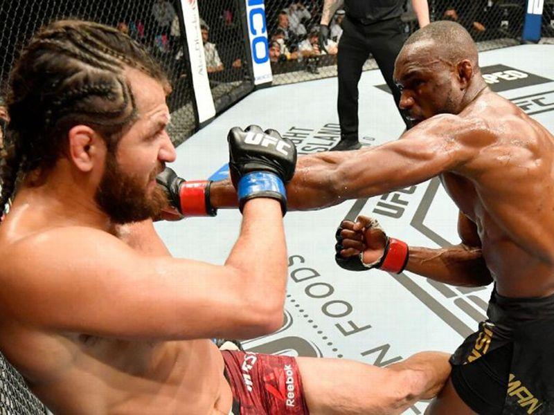 Jorge Masvidal lost to Kamaru Usman at UFC 251.