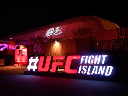 UFC Fight Island on Yas Island, Abu Dhabi