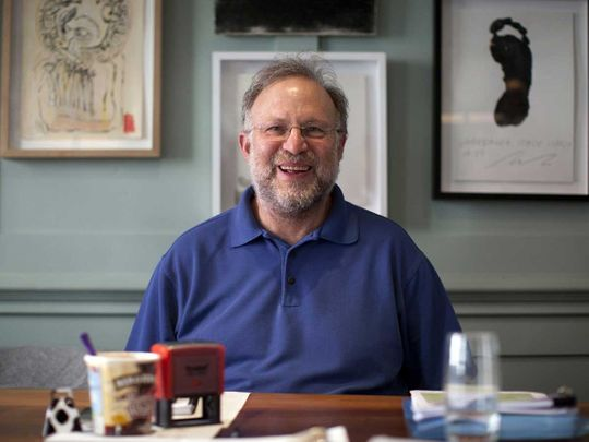 Jerry Greenfield, co-founder of Ben & Jerry's Homemade Inc. ice creams