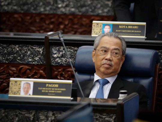 Malaysia Prime Minister Muhyiddin Yassin