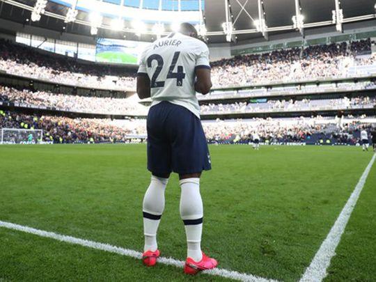 Tottenham's Serge Aurier