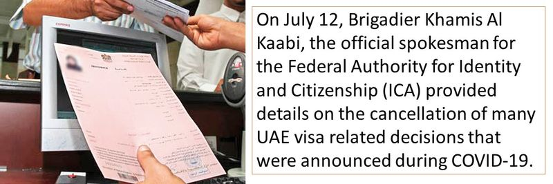 Visa rule amendment explained