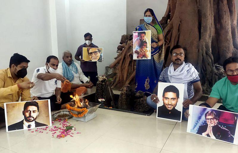 Amitabh Bachchan prayer