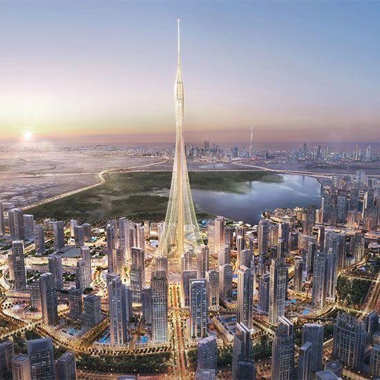 Dubai Creek towers