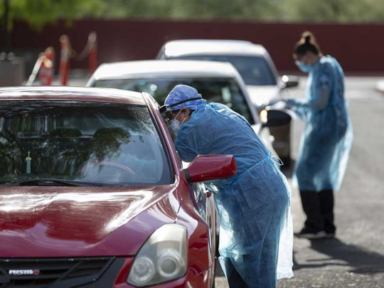 Healthcare PPE workers US Arizona