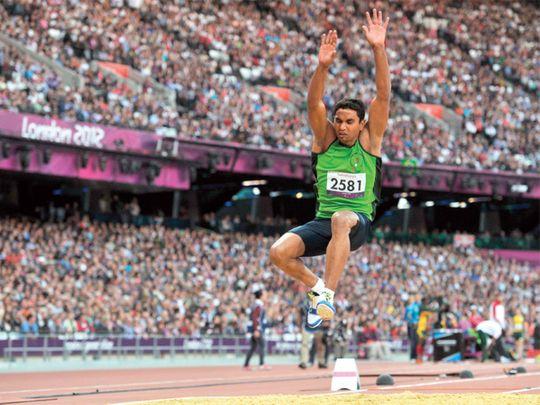 Pakistan Paralympian Haider Ali