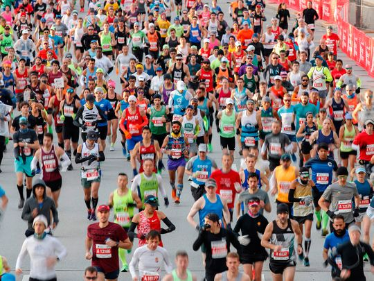 The Chicago Marathon has been cancelled