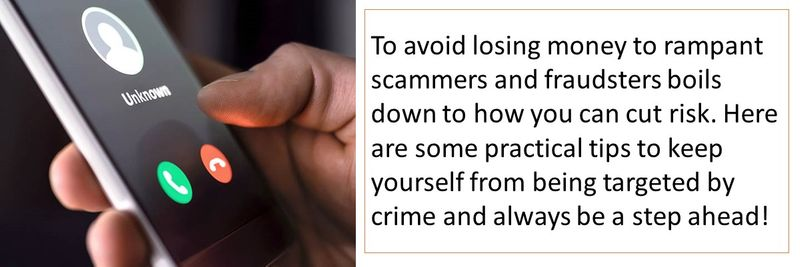 Tips to avoid being defrauded of your money online