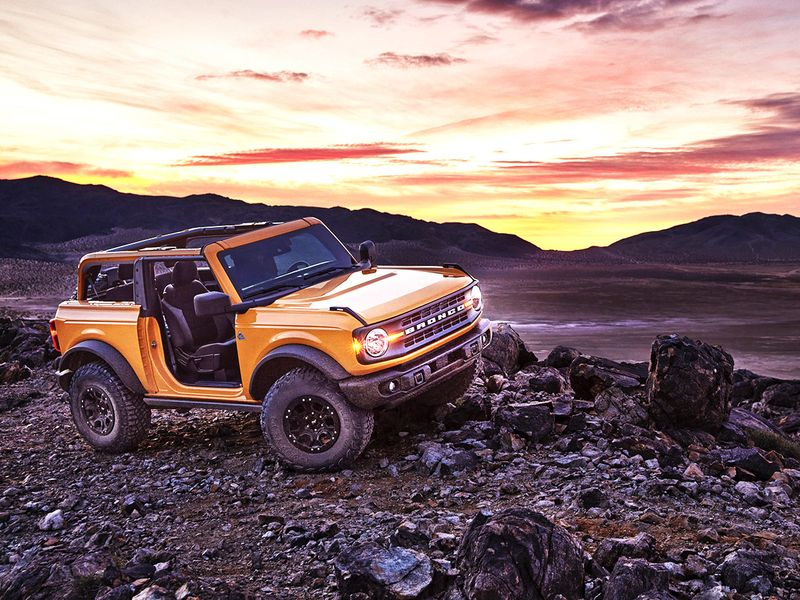 Official Ford Unveils The 2021 Bronco 4x4 Range Auto News