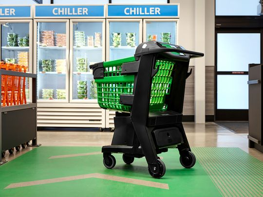 smart shopping cart, dash cart