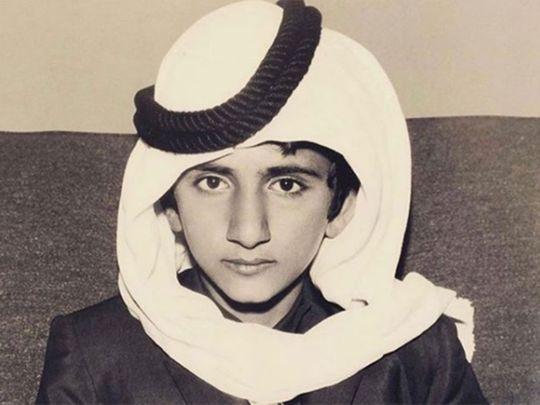 A young sheikh mohammed bin rashid