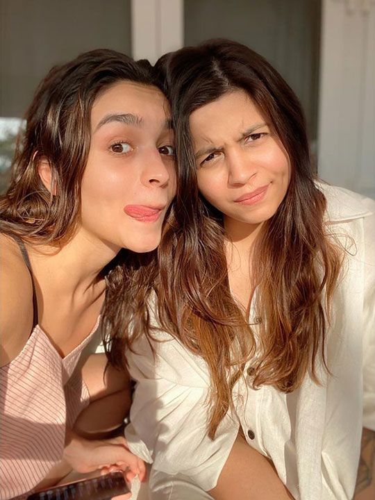 Alia and Shaheen Bhatt