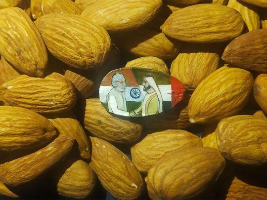 Almond portrait