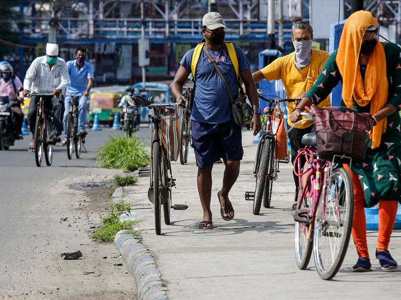 Jharkhand residents urged to ditch cars for bicycles in bid to reduce pollution