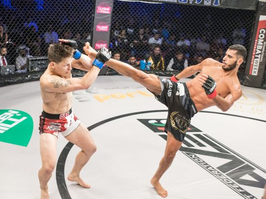 Mounir Lazzez is fighting at Yas Island