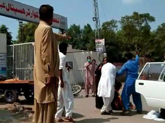 Pakistan woman kidnapped