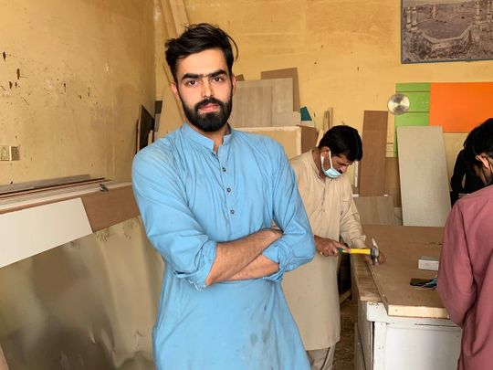 Pakistani carpenter