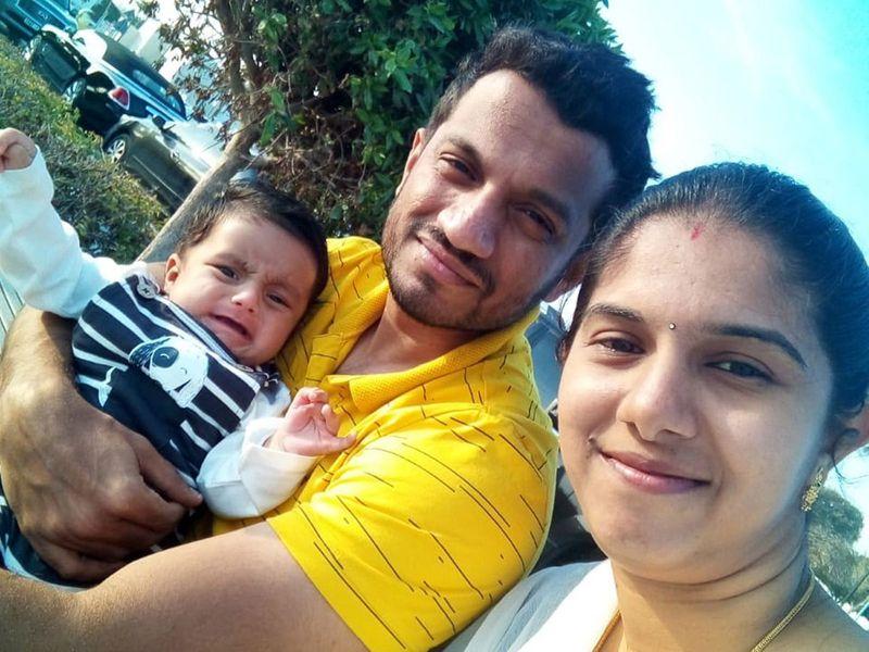 Prabhakharan Krishnaswamy and family