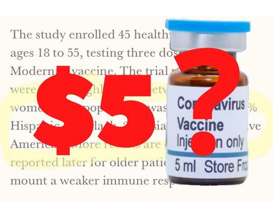 $5 vaccine COVID-19