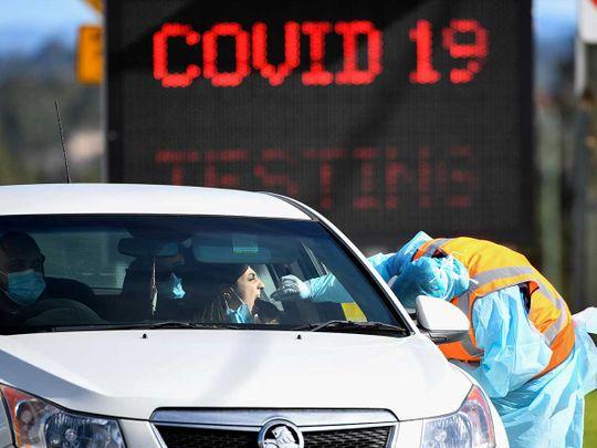 Australia testing public coronavirus covid