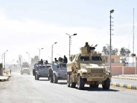Egypt army Libya