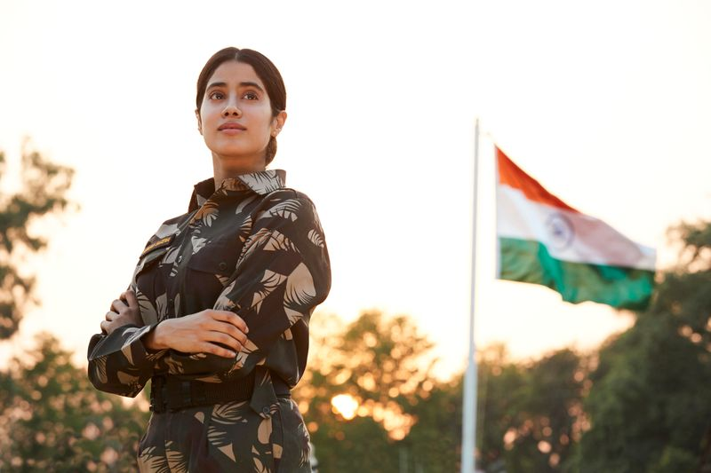 Gunjan Saxena Jahnvi Kapoor