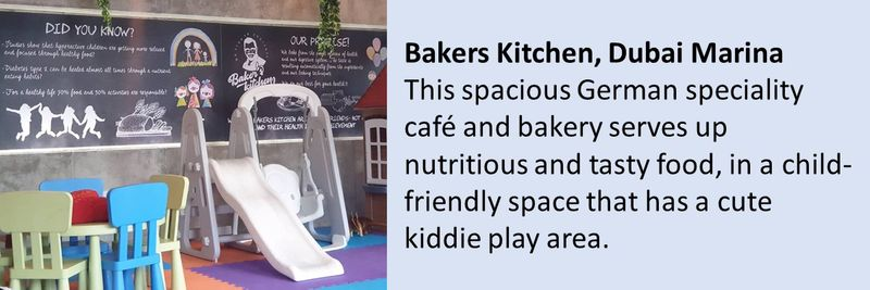 Kid friendly cafes in Dubai