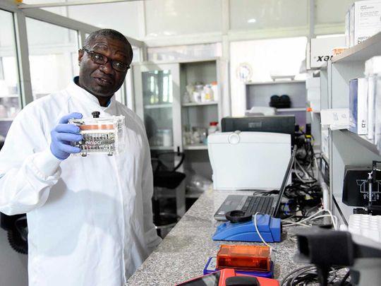 Professor Christian Happi professor Nigeria Africa COVID genomics