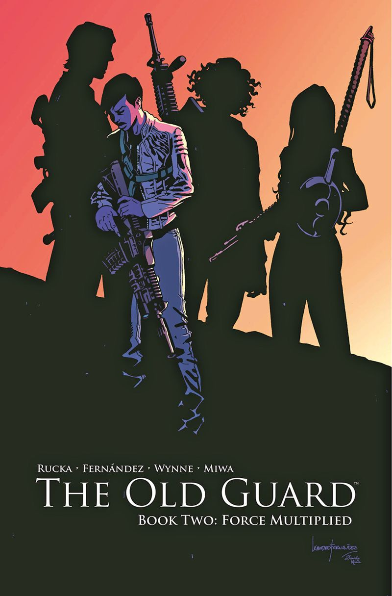 The Old Guard comic book cover