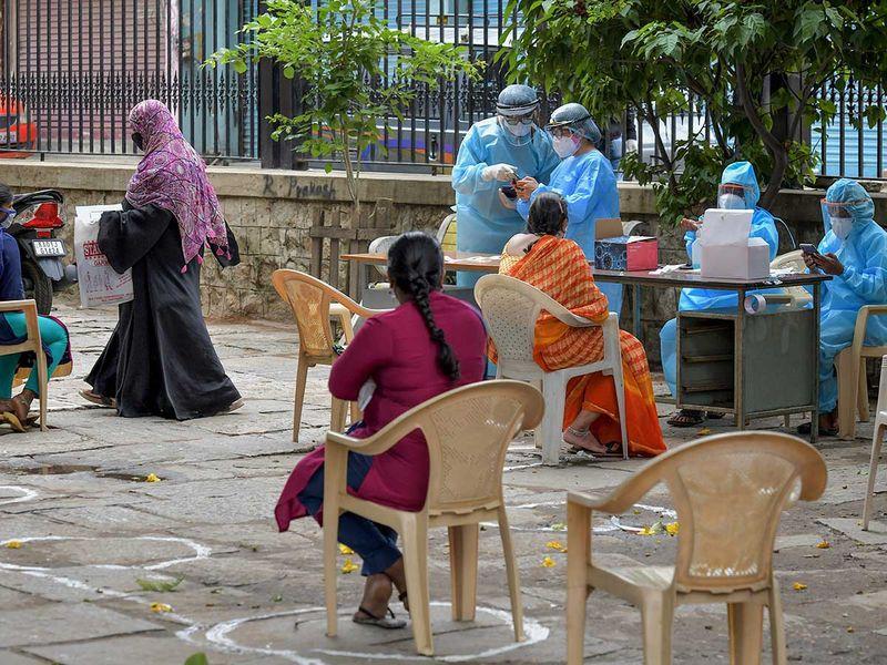 Bangalore covid doctors