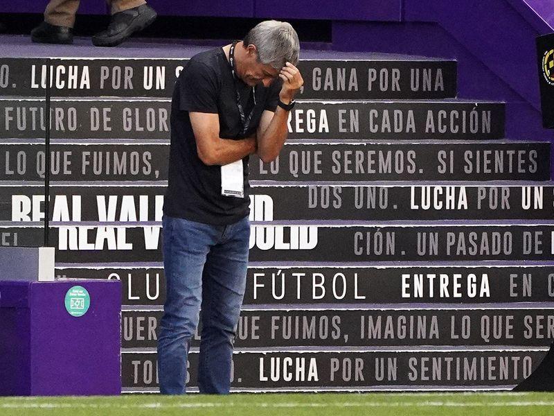 Barcelona's Spanish coach Quique Setien