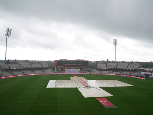 Day 3 between England and West Indies was washed out at Old Trafford