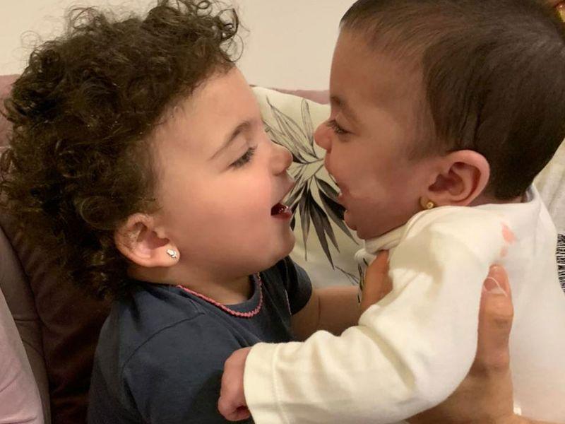 Kaytlin and baby Krista