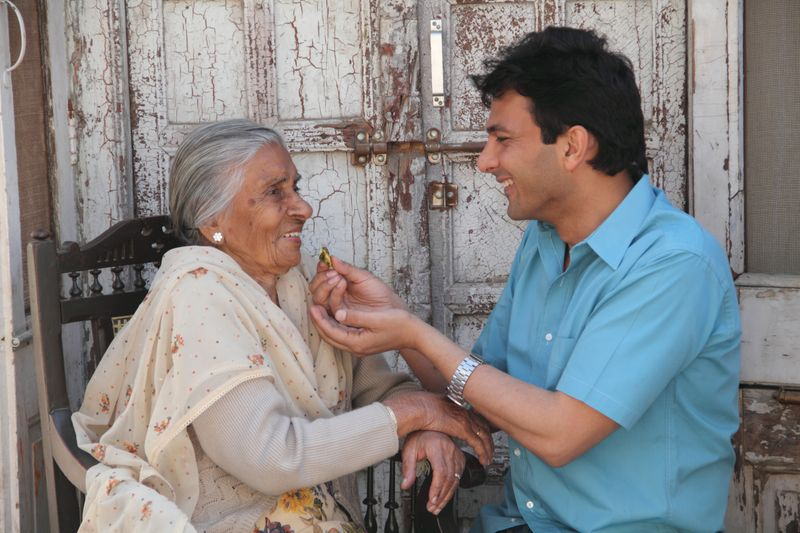 Chef Vikas Khanna has been championing the cause of people in old age homes in India