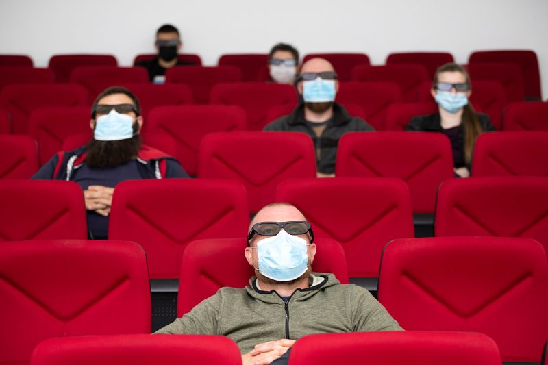 Cinemas in the UAE now follow social distancing during the pandemic