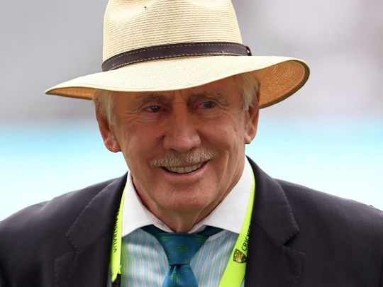 Former Australia skipper Ian Chappell