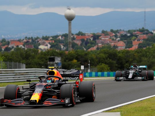 Red Bull's Alex Albon struggled in Hungary