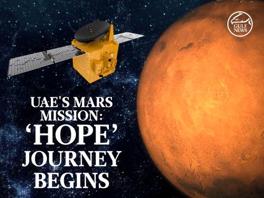 UAE's Mars mission: