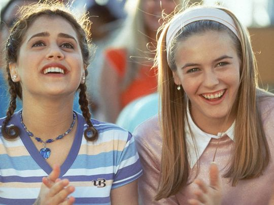 Alicia Silverstone and Brittany Murphy in Clueless (1995)-1595235021076
