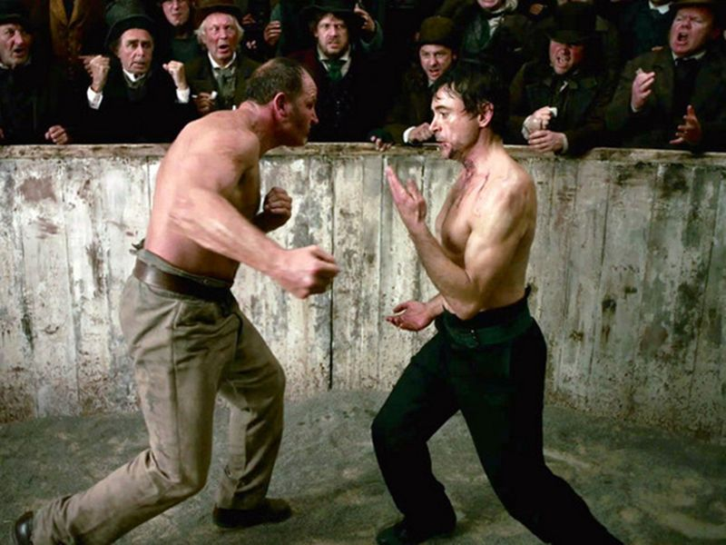 Robert Downey Jr demonstrated Sherlock Holmes' fighting style in the Guy Ritchie movies